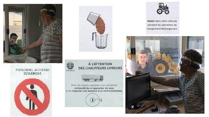 Comme le coronavirus circule toujours en France, mieux vaut être prudent pendant la moisson en respectant les mesures barrières. (©TNC)