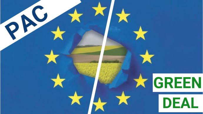 Pour le think tank Agriculture Stratégies, l'UE doit sortir du carcan des règles de l'OMC si elle veut réaliser les objectifs du Green Deal sur le plan agricole (©TNC)