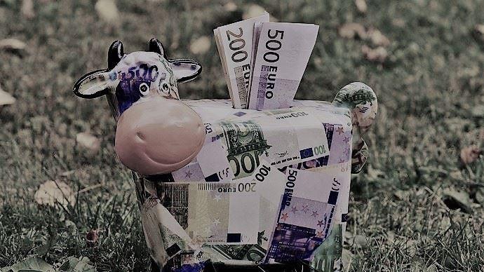 Le projet de budget pluriannuel de l'UE est de 1100 milliards d'euros et la Pac représente un tiers des allocations. (©Pixabay)