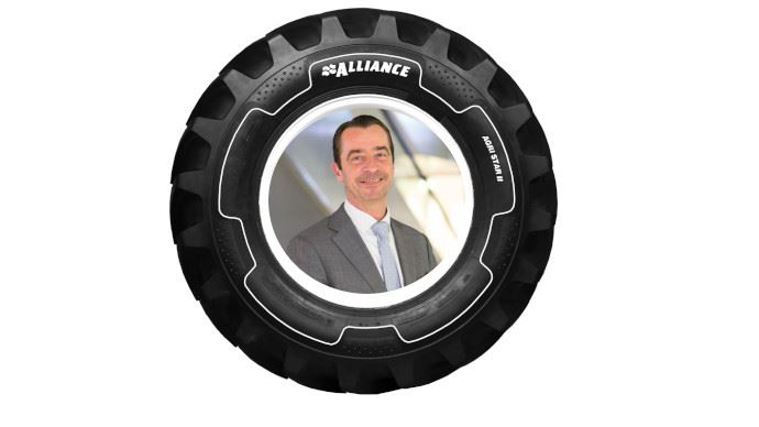 Alliance est son directeur commercial France se repositionne sur le marché du pneu haut de gamme à prix compétitif pour gagner des parts de marché chez les constructeurs. (©Alliance)