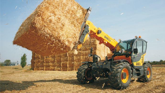 Les gammes de télescopiques Agri Max et Agri Plus bénéficient désormais de la fonction Confort Drive. (©Dieci)