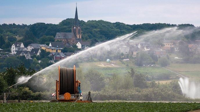 Le progrès technique permet aujourd'hui de réduire le volume d'eau employé pour l'irrigation. (©Pixabay)