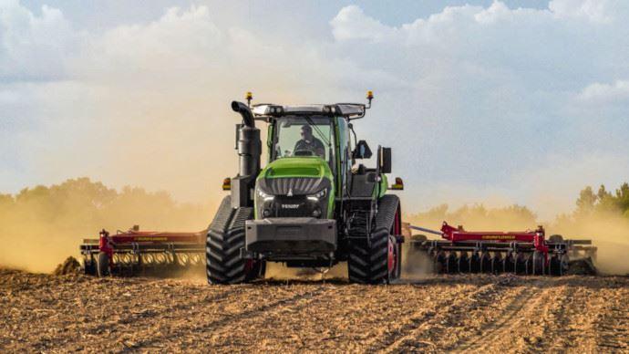 Fendt installe sa boîte Vario sur les tracteurs à chenilles jusqu'à 673ch. (©Fendt)
