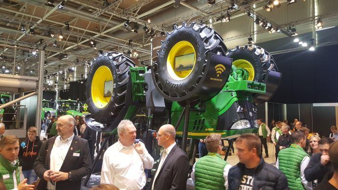 John Deere ne participera pas aux salons européens en 2021, excepté à Agritechnica. (©TNC)