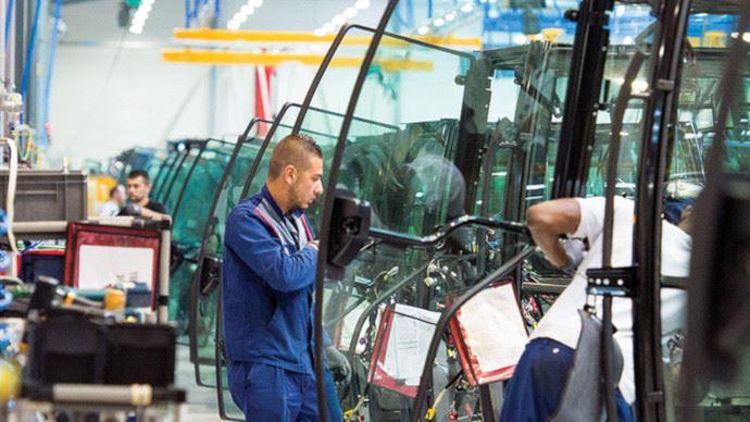 135 millions d'euros dédiés au renouvellement des machines agricoles et à la modernisation des installations. (©Massey-Ferguson)