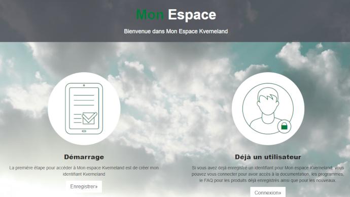 Kverneland lance sa plateforme en ligne pour donner accès facilement aux informations sur le parc machines. (©Kverneland)