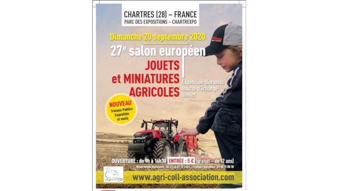 La 27e édition du salon des miniatures agricoles et TP est maintenu malgré la crise sanitaire. (©Agri Coll Association)