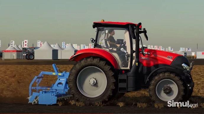 La version virtuelle d'Innov-Agri 2020 sur Farming Simulator 19 est bluffante de réalisme. (©TNC)