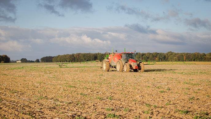 La dose annuelles maximale de glyphosate utilisée par hectare sera réduite de 60% pour les grandes cultures.(©@agrizoom/Banque d'images FranceAgriTwittos)