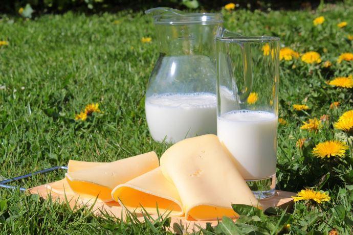 Depuis 2012, la France est de moins en moins exportatrice de produits laitiers vers l'UE (©Pixabay)