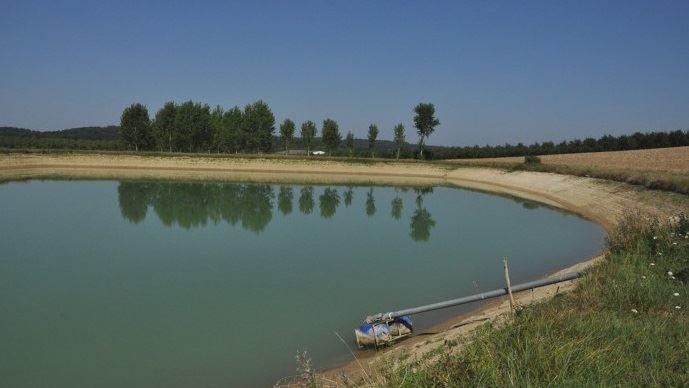 Julien Denormandie a dit vouloir simplifier les procédures pourpour construire des retenues d'eau.(©TNC)