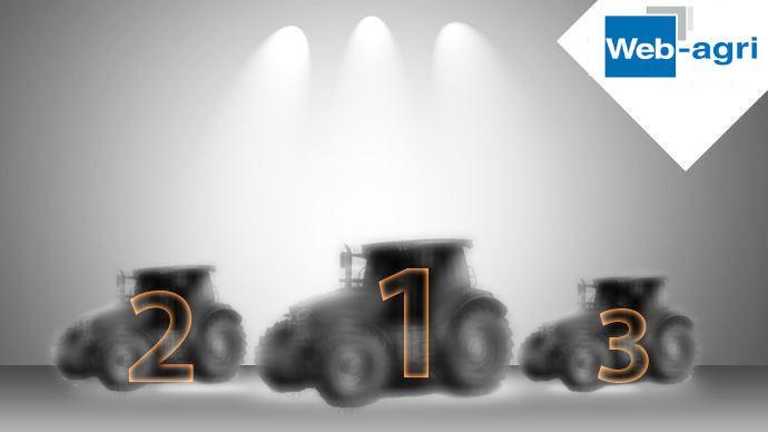 Quelle marque a immatriculé le plus de tracteurs en 2020 en France? (©TNC)