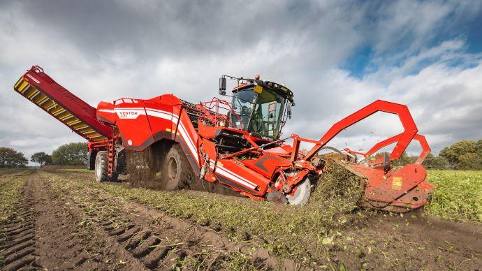 Grimme annonce une série d'options vouée à améliorer le débit de chantier et le confort de l'opérateur. (©Grimme)