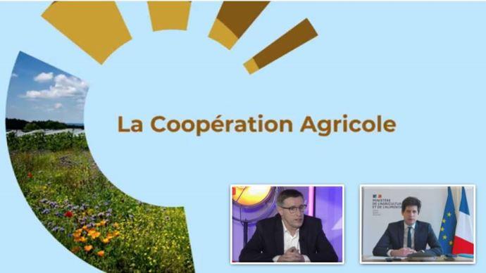 La Coopération agricole a organisé le 18 février une conférence en ligne sur l'économie ZEN: