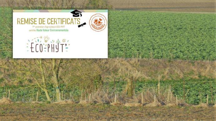 Les agriculteurs HVE 3 de l'association Eco-phy' ont témoigné le 29 janvier sur les différents atouts de cette certification. (©TNC)