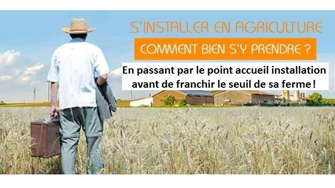 Le point accueil installation informe et oriente, gratuitement, les porteurs de projets en agriculture sur les démarches à effectuer et les organismes à contacter. (©TNC)