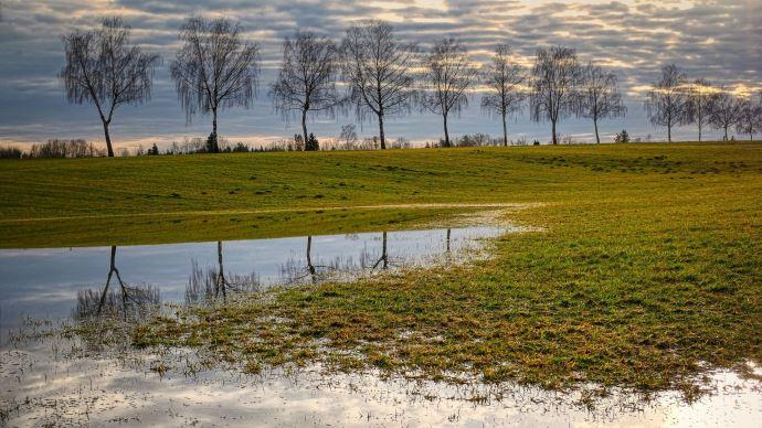 L'hiver 2020-21 détient la troisième place du podium des hivers les plus pluvieux de la décennie. (©Albrecht Fietz de Pixabay)
