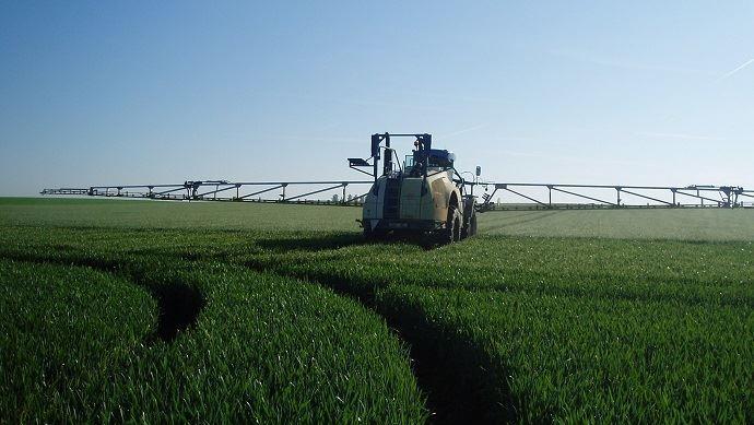 La solutionbe ApiProtection,visant les fongicides sur blé, est aujourd'hui opérationnelle sur une majorité du territoire couvertpar le réseau be Api.(©TNC)