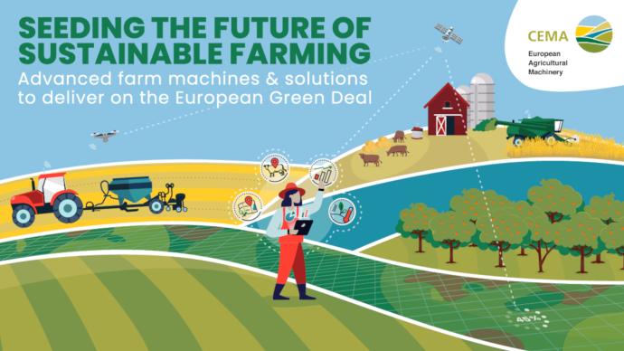Les industriels de l'agroéquipement traversent la crise «mieux que prévu» selon le Cema. (©Cema)