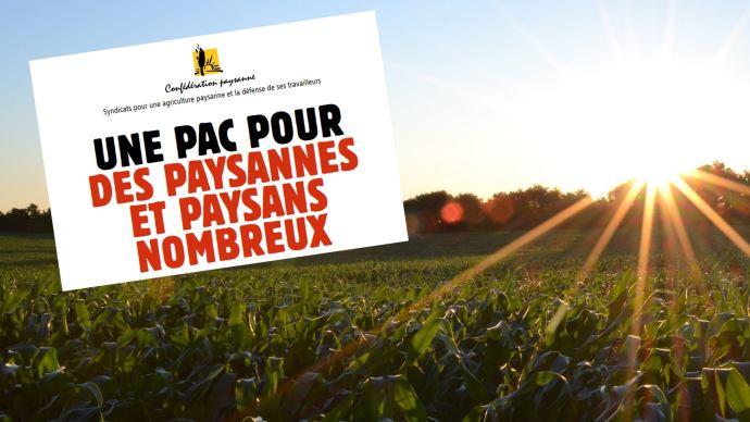 La Confédération paysanne regrette que ni le ministre, ni les autres syndicats n'évoquent les enjeux sociaux du plan stratégique national de la future Pac. (©Pixabay/Confédération paysanne)
