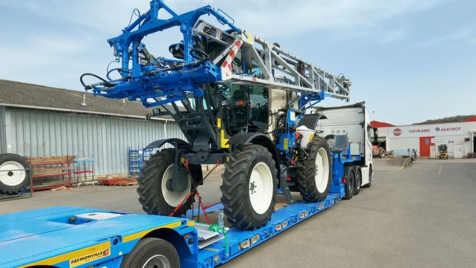 Les automoteurs Matrot Hellios 3 sont désormais assemblés à l'usine de Beaurainville dans le Pas-de-Calais. (©Hardi-Evrard)