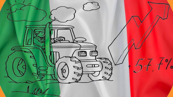Des ventes records de matériel agricole au premier trimestre 2021 en Italie. (©TNC)