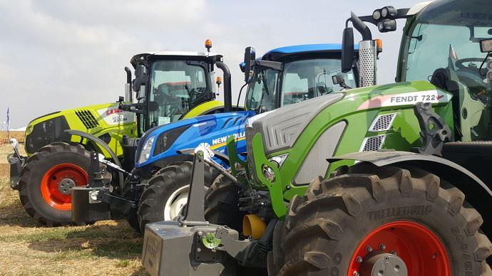 Le marché des tracteurs et machines agricoles devrait augmenter de 5,5% en France en 2021 selon Axema (©TNC)