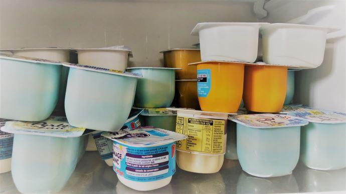 La crise sanitaire a boosté les ventes de produits laitiers frais en grande distribution l'année dernière. (©TNC)