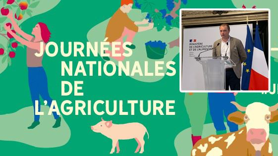 Les Journées nationales de l'agriculture sont organisées par Make.org et #Agridemain. (©JNA et TNC)