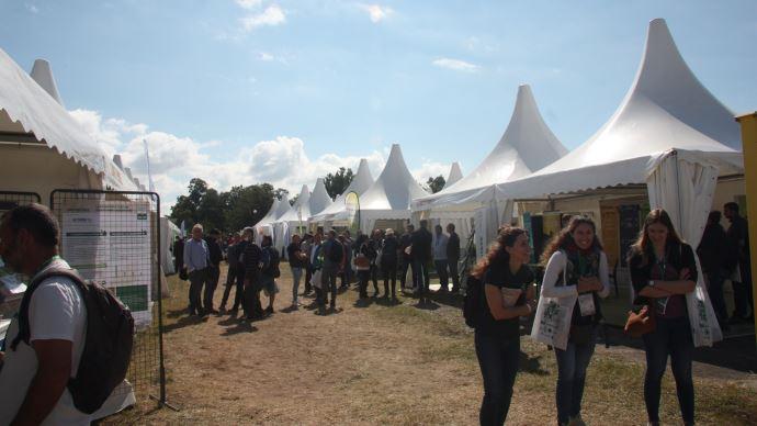 Bayer, Lallemand, Syngenta, De Sangosse mais aussi Action Pin ou Vivagro font partie du village du biocontrôle à Tech&Bio du 21 au 23 septembre, dans la Drôme. (©TNC)