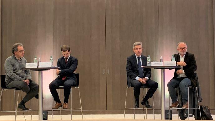 De gauche a droite: Thierry Fellman, Jerome Brouillet, Pierre Bascou, Eric Andrieu. (©TNC)